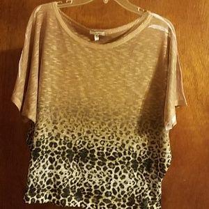 Cach'e blouse short sleeve